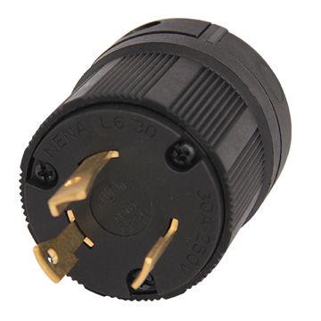 china wiring device twist locking power plug, nema l6-30p 30a 125/250v