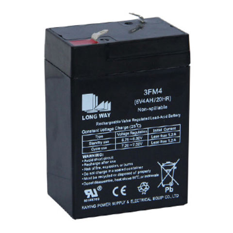 6V 4Ah battery used for UPS, weighing scale, LED lighting