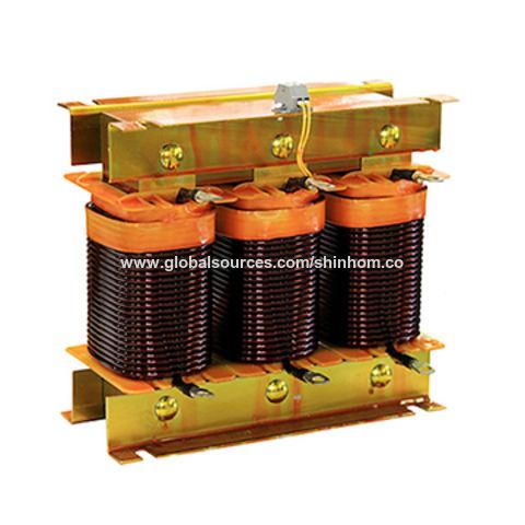 Solar inverter reactor 3X120uH 300A current