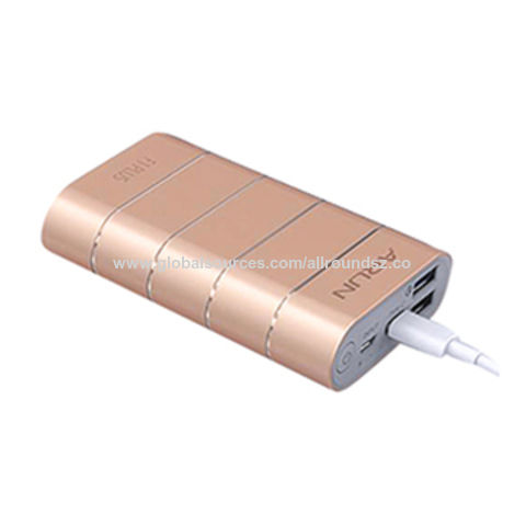 QC3.0 Quick Charge Type-C Metallic Luxury Portable Charger, Metal Casing, Optional Capacity