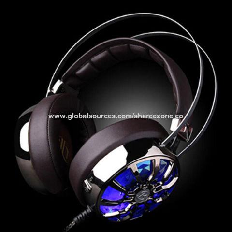 7.1 Sound Game Head-Mounted Internet Headset, Bar PC Heavy Bass Vibration Music