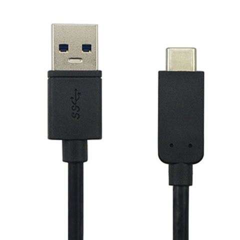 USB C cable, USB 2.0 to type c cable, with PVC jacket for MacBook Chromebook charging