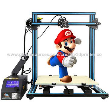 China Creality 3D/CR-10 DIY/3D Printer, 500*500*500mm 3D Printer Kits Accept Customized Measurement
