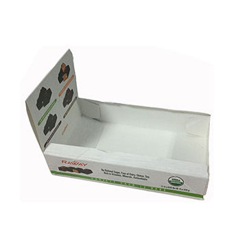 China Paper Display Box, Customized Color and Size/Made of Ivory Board Paper/Offset Print