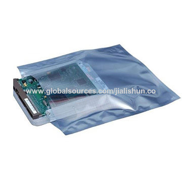 China ESD packing bag for electronic products packing, size specifications can be customized according