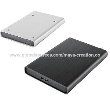 China Aluminium USB 3.0 TO SATA 2.5-inch external USB 3.0 HDD enclosure