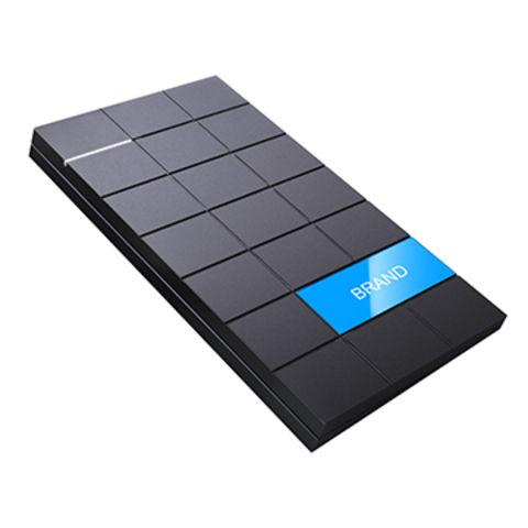 China 2.0 Chocolate Customized HDD, Enclosures Receiving Logo Customizing