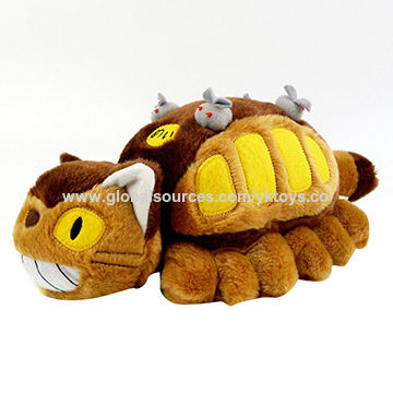 China Bus toy baby toys custom plush toy ICTI approval