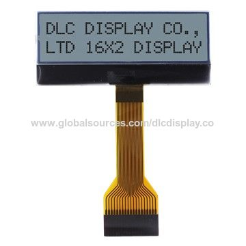 China 16 characters x 2 lines LCD display module