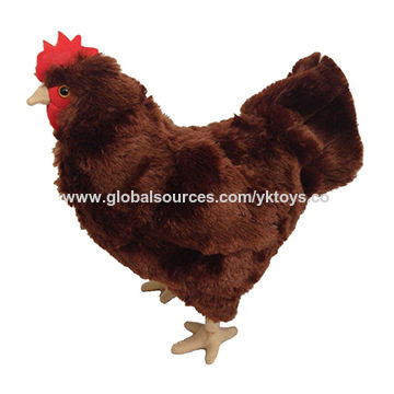 China Plush rooster plush toy custom plush toy ICTI approval