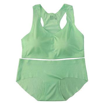 China Women's seamless bra & panties