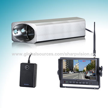 Forklift Security Camera Systems with Dual screen / Quad view screen