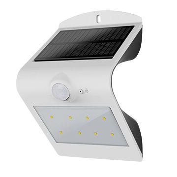 2200mAh 18650 lithium battery powered solar motion sensor security light