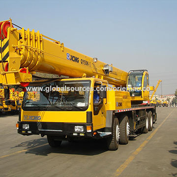 New 50-ton mobile crane for construction QY50KA