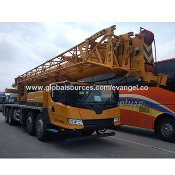 China Crane truck, mobile truck crane, XCM truck crane 50 tons