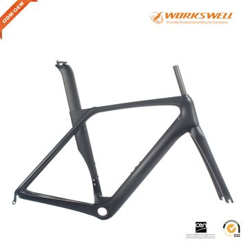 Good quality AERO carbon road bike frame carbon frame road with 2 ...