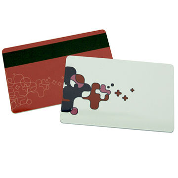 Credit Card Size Cr80 Magnetic PVC Cards Smart Chip