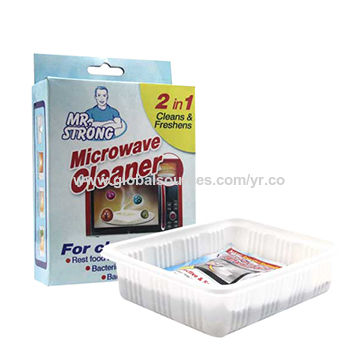 New 40ml*3pcs/box steam microwave oven cleaner