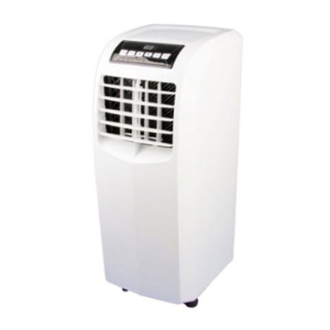 Portable air conditioner, 7K BTU A class/LCD remote control/2 speed easy move/auto drain water