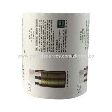 China Custom Printed Auto Packaging film roll Stock film