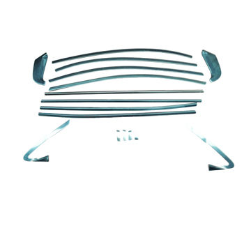 China Stainless steel full window decorative trim (without center pillar) for Honda CITY