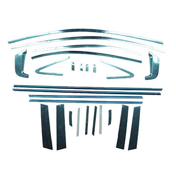 China Stainless steel full window decorative trim for Honda new civic