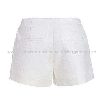 China Women shorts made of 100%polyester
