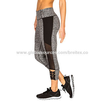 Women's Strappy Braided Ankle Capris