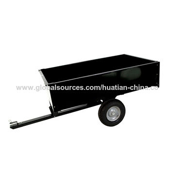 China Pb-free/UV-resistant Powder-coated Garden Cart with 450kg Loading Capacity