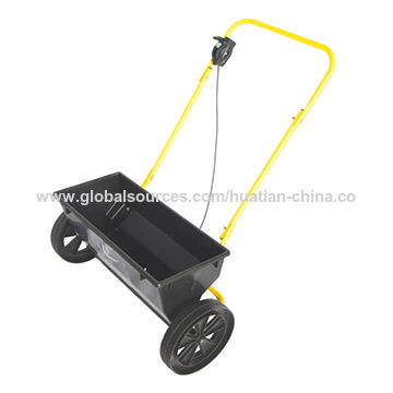China Fertilizer Spreader Garden Cart, Can be Used for Seed and Fertilizer