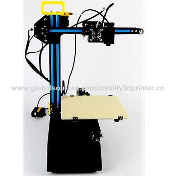 China DIY small personal 3D printer kit, desktop 3D printer, 201*210*210mm laser 3D printer