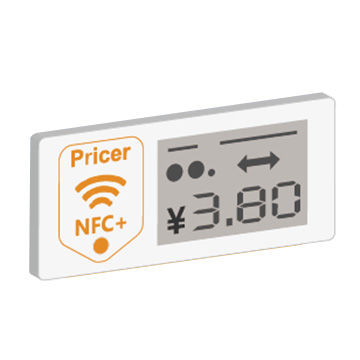 NFC Electronic Shelf Label Used in Supermarket, Warehouse, Vending machine