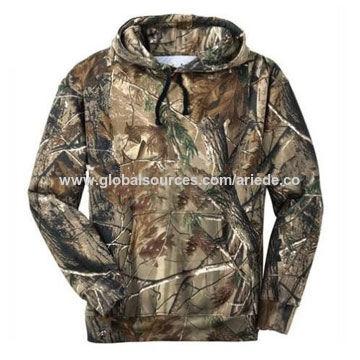 Camo Lightweight Cotton Hunting Camo Hoodie, Sweatshirt
