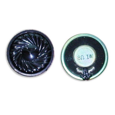 China Water-resistance Speakers with 8ohms Impedance and 5.4mm Thickness