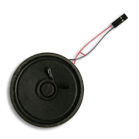 China Longlife Circle 0.5W Micro Speakers with Wire and Connector