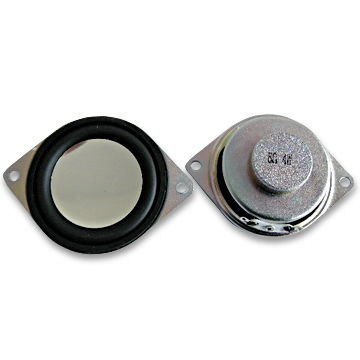 China 4.0W/water-resistance micro speakers with Impedance of 8 ohms