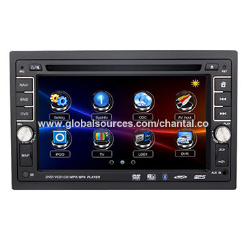 China 6.2-inch Car DVD Player with GPS/BT/iPod for Universal 178x102mm