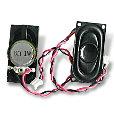 China Laptop Speaker with Impedance of 8 Ohms