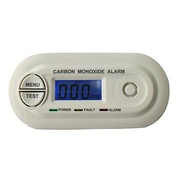 LCD Display CO Carbon Monoxide Poisoning Sensor, Monitor Alarm Detector, Home Alarm