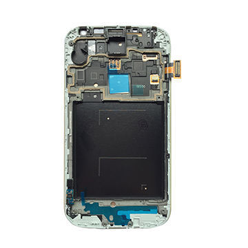 China LCD Assembly with Frame for Samsung S4 i9505 White