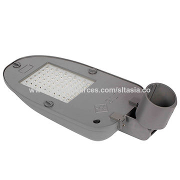 China SLT dimmable LED area luminaires, tool-free installation and low maintenance, 5-year warranty, ENEC