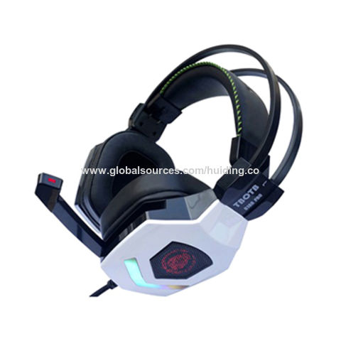 Gaming Headset for TBOTB 7.1 Channel USB Wired/Gaming Headphone with Mic/Vibration Control for PC