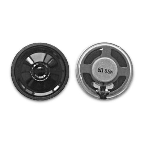 China Mylar Speakers with 0.5W, Power Rating and 8Ω Impedance