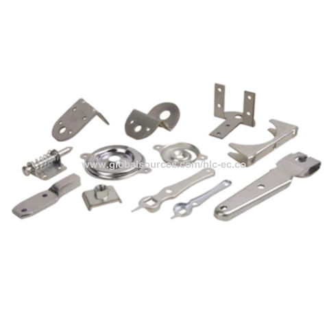 China Stamping Parts, Made of Various Stainless Steels, Used for Machinery Parts, Customized Designs