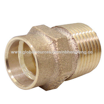 China Solder Ring Bronze Male Adapter Bronze Fittings