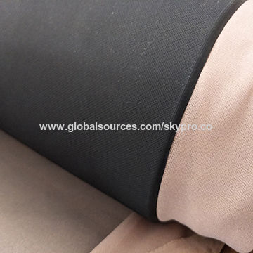3mm Soft High Quality Heat Resistant Texture CR Neoprene Closed Cell Foam Coated N Fabric