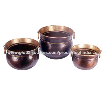 India Brass Planters