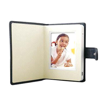 China Touchscreen Personal Digital Photo Frame with 320 x 240p Resolution and Rechargeable Battery