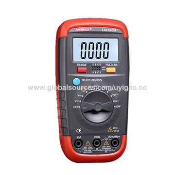 5999 Auto Range Palm Size Digital Multimeter AC DC Resistance Capacitance Frequency Diode Triode