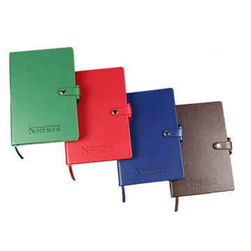 China High grade PU notebook, Customised size,colors and design are accepted